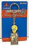 Click here to enlarge image and see more about item CH0211AA1: MINT Tweety/BUGS BUNNY Keychain MOC