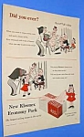 1956 LITTLE LULU Kleenex Ad