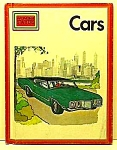 Click here to enlarge image and see more about item CHB0316AA1: 1973 CARS (Torino/VW/Saab/Cooper) Child Book