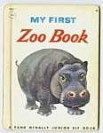 Click here to enlarge image and see more about item CHB0524PP3: MY FIRST ZOO BOOK Jr.  Elf Book