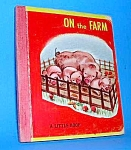 ON THE FARM Tiny Book - 1948