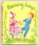 NURSERY SONGS - Little Golden Book - Malvern