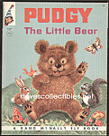 Click here to enlarge image and see more about item CHBK0817A5-2008: PUDGY THE LITTLE BEAR  Elf Book - 1964