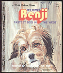 BENJI - FASTEST DOG IN THE WEST - Little Golden Book