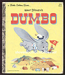 Click here to enlarge image and see more about item CHBK0817C7-2008: DUMBO Little Golden Book - Disney