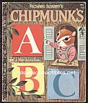 RICHARD SCARRY CHIPMUNKS ABC -  Little Golden Book