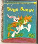Click here to enlarge image and see more about item CHBK082109A19: BUGS BUNNY Little Golden Book