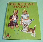 Click here to enlarge image and see more about item CHBK1003A2: THE KITTEN'S SECRET  Wonder Book