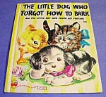 Click here to enlarge image and see more about item CHBK1024A4: Little Dog Who Forgot How To Bark+ WONDER BK