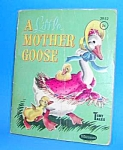 Click here to enlarge image and see more about item CHBK1125C1: LITTLE MOTHER GOOSE Tiny Tales Book - 1959