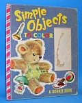 SIMPLE OBJECTS TO COLOR Bonnie Book-1950