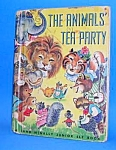 Click here to enlarge image and see more about item CHBK1204B2: THE ANIMALS' TEA PARTY Jr. ELF BOOK