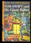 Click here to enlarge image and see more about item CHBK32111A04: TOM SWIFT AND HIS GIANT ROBOT Series Book