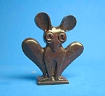 Click here to enlarge image and see more about item CJ061706A10-492: Cracker Jack Prize: 1950s MOUSE-LIKE STANDUP