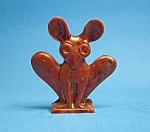 Click here to enlarge image and see more about item CJ0617F1-2006: Cracker Jack Prize: 1950s MOUSE-LIKE STANDUP