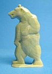 Click here to enlarge image and see more about item CJ0628A5-2006: Cracker Jack Prize: 1950s STANDING BEAR STANDUP