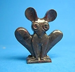 Click here to enlarge image and see more about item CJ1112A3-2006: Cracker Jack Prize: 1950s MOUSE-LIKE STANDUP