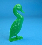 Click here to enlarge image and see more about item CJ1203B2-2006: Cracker Jack Prize: 1950s STANDING DUCK STANDUP