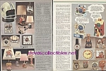 CHARACTER CLOCKS..ET..STAR WARS..+.1984 Sears Wish Book