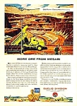 Click here to enlarge image and see more about item CONST0121A2: 1956 EUCLID OFF-ROAD CONSTRUCTION Truck Magazine Ad