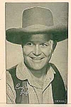 Click here to enlarge image and see more about item COW1217A4: 1940s Rufus Davis COWBOY Penny Arcade Card