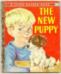Click here to enlarge image and see more about item DAD052509A008: THE NEW PUPPY Little Golden Book