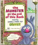 THE MONSTER AT THE END OF THIS BOOK-Little Golden Book