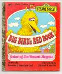 BIG BIRDS RED BOOK - Little Golden Book - Muppets