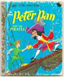 PETER PAN AND THE PIRATES - Disney - Little Golden Book