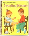 COUNTING RHYMES - Little Golden Book