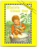 Click here to enlarge image and see more about item DCHBK051709A058: ELSIE 'S CLEAN DAY - Read along with Me Book