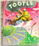 Click here to enlarge image and see more about item DCHBK051709A063: TOOTLE - Little Golden Book