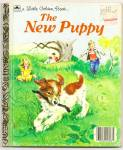 THE NEW PUPPY - Little Golden Book