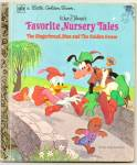 FAVORITE NURSERY TALES - Disney Little Golden Book