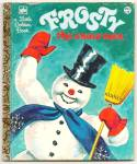 FROSTY THE SNOWMAN Little Golden Book
