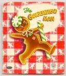GINGERBREAD MAN - Tell-A-Tale Book - 1953