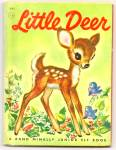 Click here to enlarge image and see more about item DCHBK052509A035: LITTLE DEER Jr.  Elf Book - 1956