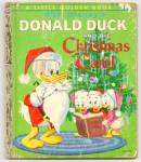 DONALD DUCK'S CHRISTMAS CAROL - Little Golden Book