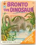 Click here to enlarge image and see more about item DCHBK052509A066: BRONTO THE DINOSAUR Elf Book