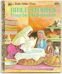 BIBLE STORIES FROM THE OLD TESTAMENT-Little Golden Book