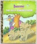 DARKWING DUCK SILLY CANINE CAPER Little Golden Book