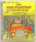 THE FIRE FIGHTERS COUNTING BOOK- Little Golden Book