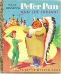 Click here to enlarge image and see more about item DCHBK061409A013: PETER PAN AND THE INDIANS - Disney - Little Golden Book