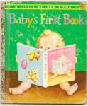 BABYS FIRST BOOK - Little Golden Book