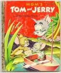 TOM AND JERRY Little Golden Book