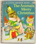 ANIMALS MERRY CHRISTMAS -  Little Golden Book - Scarry