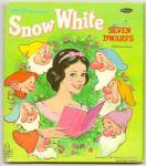 Click here to enlarge image and see more about item DCHBK091909A038: Disney SNOW WHITE AND SEVEN DWARFS - Tell-A-Tale Book
