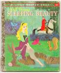 SLEEPING BEAUTY - Disney - Little Golden Book -1957