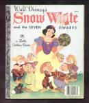 Click here to enlarge image and see more about item DCHBK092208A121: Snow White & Seven Dwarfs - LITTLE GOLDEN BOOK