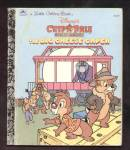 Click here to enlarge image and see more about item DCHBK092208A123: CHIP 'N DALE The Big Cheese Caper - LITTLE GOLDEN BOOK